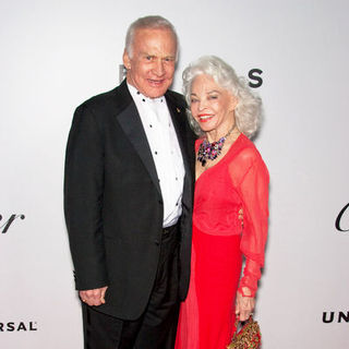 Buzz Aldrin, Lois Aldrin in 66th Annual Golden Globes NBC After Party - Arrivals