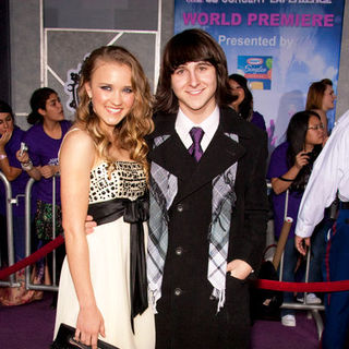 "Emily Osment, Mitchel Musso in ""Jonas Brothers: The 3D Concert Experience"" World Premiere - Arrivals"
