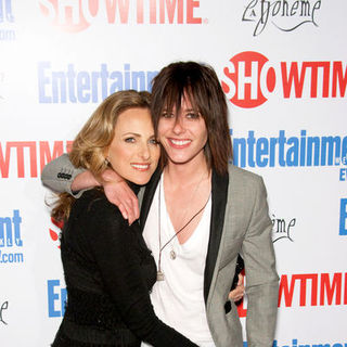 "Katherine Moennig, Marlee Matlin in ""The L Word"" Red Carpet Farwell Event - Arrivals"