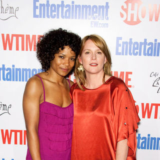 "Rose Rollins, Laurel Holloman in ""The L Word"" Red Carpet Farwell Event - Arrivals"