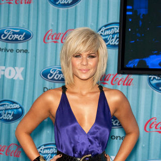 Kimberly Caldwell in American Idol Top 13 Party - Arrivals