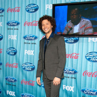 Justin Guarini in American Idol Top 13 Party - Arrivals