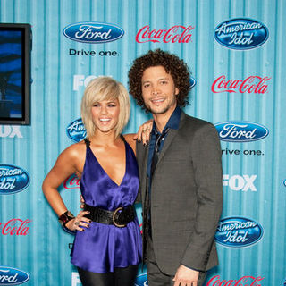 Kimberly Caldwell in American Idol Top 13 Party - Arrivals - CSH-051731