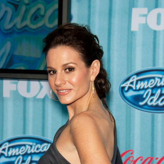 Kara DioGuardi in American Idol Top 13 Party - Arrivals