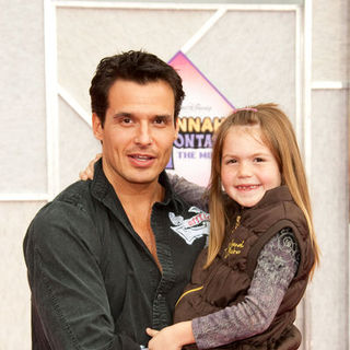 "Antonio Sabato Jr. in ""Hanna Montana: The Movie"" World Premiere - Arrivals"