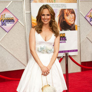 "Melora Hardin in ""Hanna Montana: The Movie"" World Premiere - Arrivals"
