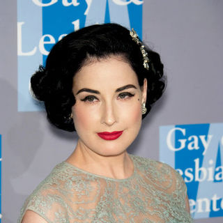 Dita Von Teese in An Evening with Women: Celebrating Art, Music and Equality - Arrivals