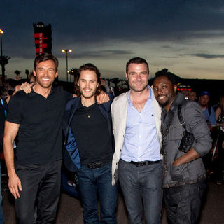 "Hugh Jackman, Taylor Kitsch, Liev Schreiber, will.i.am in ""X-Men Origins: Wolverine"" World Premiere - Arrivals"