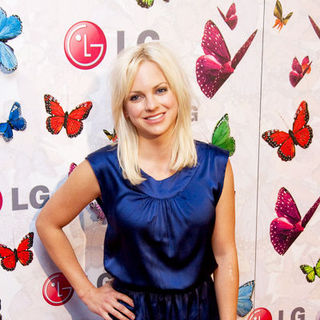 "Anna Faris in The LG ""Rumorous Night"" Launch Party Hosted By Heidi Klum - Arrivals"