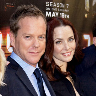 "Kiefer Sutherland, Annie Wersching in ""24"" Season Seven Finale and DVD Release Party - Arrivals"