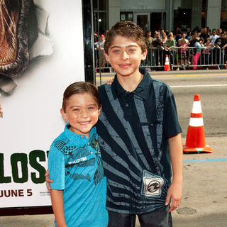 "Raymond Ochoa, Ryan Ochoa in ""Land of the Lost"" Los Angeles Premiere - Arrivals"