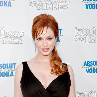 "Christina Hendricks in ""500 Days of Summer"" Los Angeles Premiere - Arrivals"