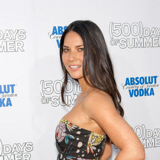 "Olivia Munn in ""500 Days of Summer"" Los Angeles Premiere - Arrivals"