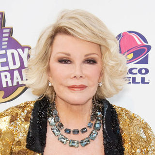 Joan Rivers in Comedy Central Roast of Joan Rivers - Arrivals