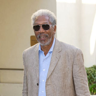 "Morgan Freeman in ""Get Schooled"" Conference and Premiere - Arrivals"