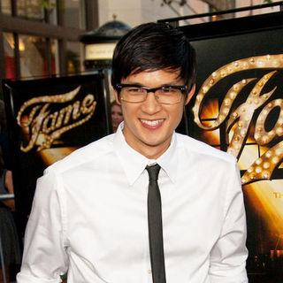 "Harry Shum Jr. in ""Fame"" Los Angeles Premiere - Arrivals"
