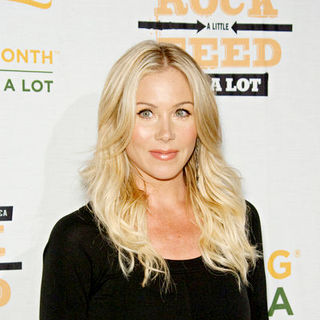 "Christina Applegate in ""Rock A Little, Feed A Lot"" Benefit Concert - Arrivals"