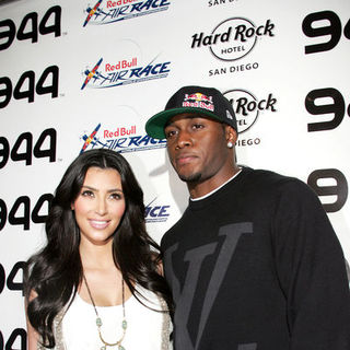 Kim Kardashian, Reggie Bush in Red Bull Airshow After Party - Red Carpet Arrivals