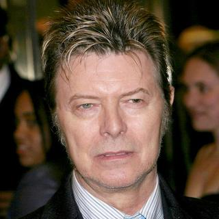 David Bowie in The Color Purple Broadway Opening Night - Arrivals
