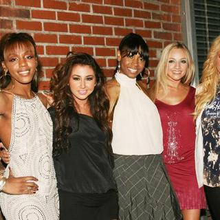 Danity Kane in Christina Aguilera Back to Basics After Party at Marquee in New York City