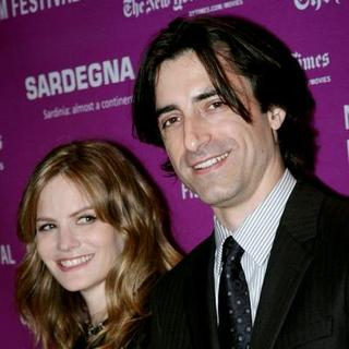 Jennifer Jason Leigh, Noah Baumbach in 45th New York Film Festival - 'Margot At The Wedding' Movie Screening - Arrivals