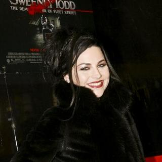 "Amy Lee in ""Sweeney Todd: The Demon Barber of Fleet Street"" New York Premiere - Inside Arrivals"