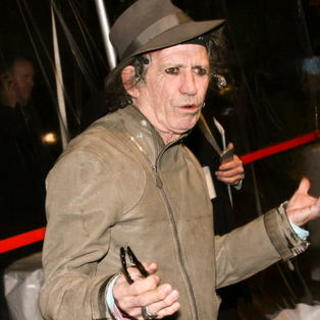 "Keith Richards in ""Sweeney Todd: The Demon Barber of Fleet Street"" New York Premiere - Inside Arrivals"