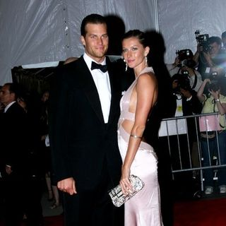 "Gisele Bundchen, Tom Brady in ""Superheroes: Fashion and Fantasy"" Costume Institute Gala at The Metropolitan Museum of Art"