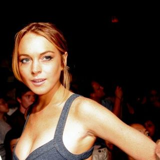 Lindsay Lohan - Mercedes-Benz Fashion Week Spring 2009 - Charlotte Ronson Spring 09 Fashion Show