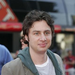 Zach Braff in Chicken Little World Premiere - Arrivals