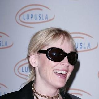 "Sharon Stone in ""Hollywood Bag Ladies"" Lupus Luncheon"