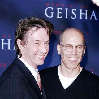 Martin Short, Jeffrey Katzenberg in Premiere of Memoirs of a Geisha