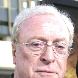 Michael Caine in Batman Begins Los Angeles Premiere