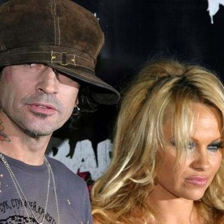Pamela Anderson, Tommy Lee in Rokbar Hollywood Launch Party