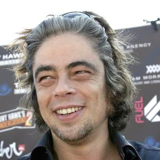 Benicio Del Toro in Tony Hawk's 1st Stand Up For Skateparks Benefit