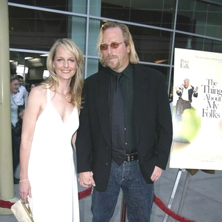 Helen Hunt, Matthew Carnahan in The Thing About My Folks Los Angeles Premiere - Arrivals
