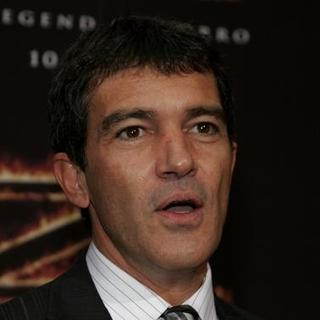 Antonio Banderas in The Legend of Zorro Los Angeles Premiere - Red Carpet