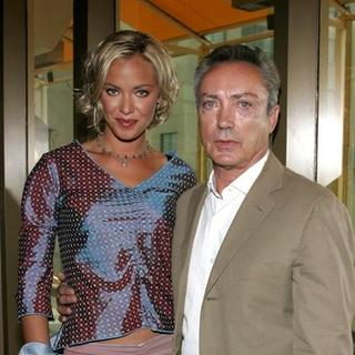 Kristanna Loken, Udo Kier in Bloodrayne AFM Press Conference