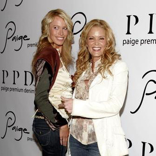 Jeri Ryan, Paige Adams-Geller in Paige Premium Denim Party - Arrivals