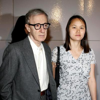 Woody Allen, Soon-Yi Previn in Match Point Premiere - Arrivals
