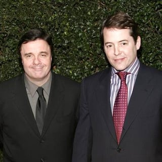 Matthew Broderick, Nathan Lane in The Producers World Premiere