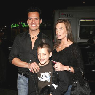 Antonio Sabato Jr. in Firewall World Premiere