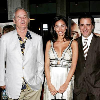 Bill Murray, Ines Sastre, Andy Garcia in The Lost City Los Angeles Premiere