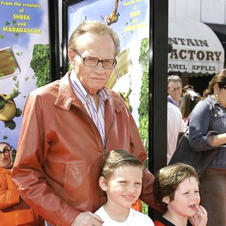 Larry King in Over The Hedge Los Angeles Premiere