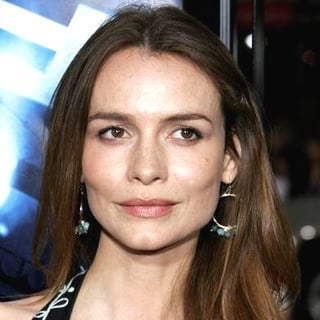 Saffron Burrows in Poseidon Los Angeles Premiere