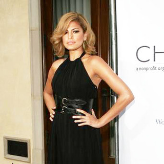 Eva Mendes in Chrysalis' 5th Annual Butterfly Ball