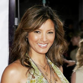 Kelly Hu in Miami Vice World Premiere