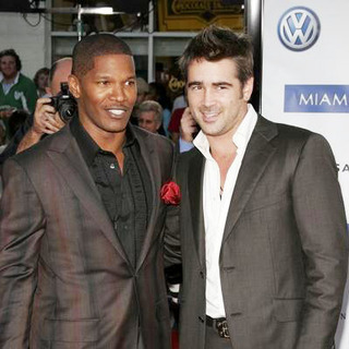 Colin Farrell, Jamie Foxx in Miami Vice World Premiere