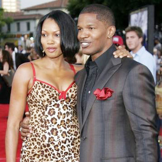 Jamie Foxx, Garcelle Beauvois in Miami Vice World Premiere