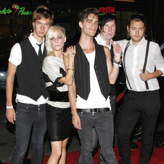 Cobra Starship in Snakes on a Plane Los Angeles Premiere